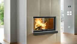 Feuer und Flamme für Kamin und Wärmepumpe