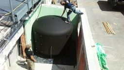 Mehr Speichervolumen für Wärmerückgewinnung in einer Industrieanlage