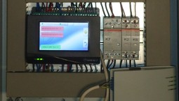 Industrieanlage mit Frischwasserstation und Abwärmenutzung